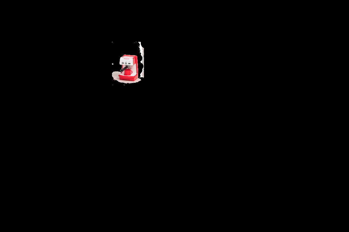 Játékkonyha korral növekvő, folyó vízzel és mikrohullámú sütővel Tefal Evolutive Gourment Smoby piros, mágikus bugyogással, kisszékkel és 43 kiegészítővel
